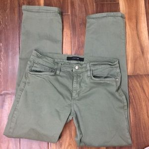 Joes Jeans olive green classic fit jeans-33